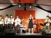Giusy Dieli in 'Think' (Aretha Franklin) accompagnata dalla band al Gran Gala