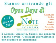 Open Days Note2